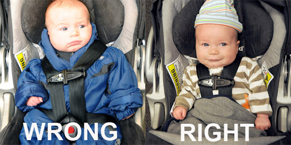 Baby Car Seats Coats This Is Why You Shouldn 39;t Put A Puffy Coat On Your Baby If
