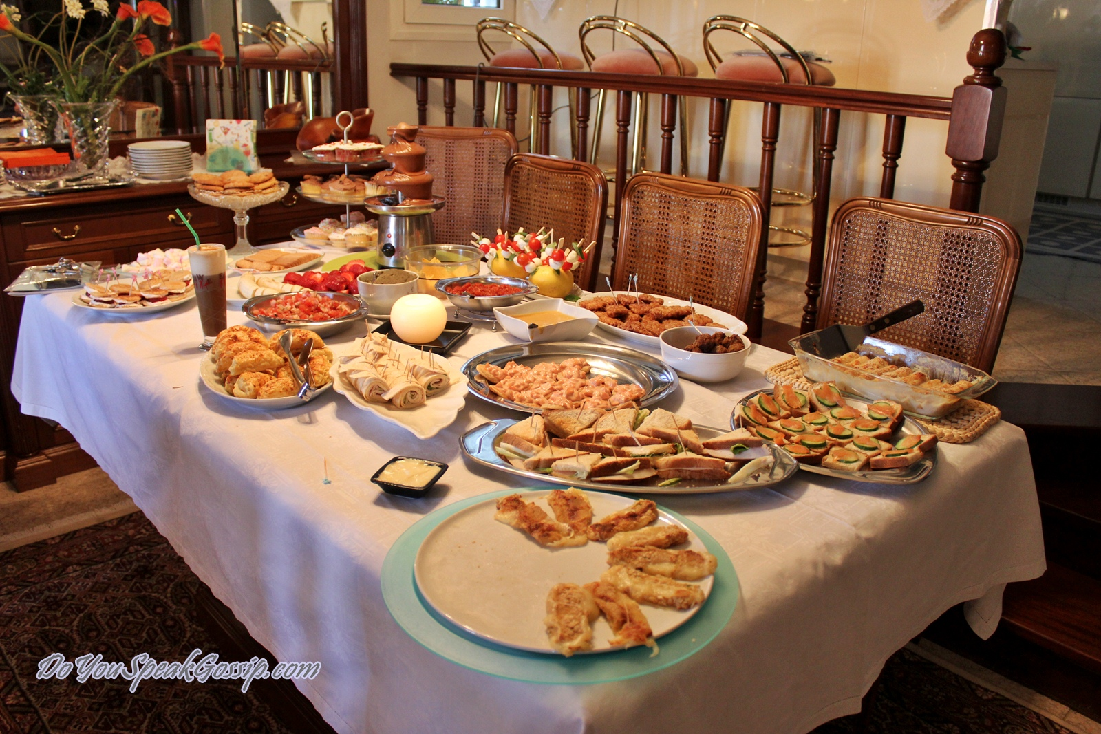 Buffet Party Birthday Party Details Do You Speak Gossip Do You Speak