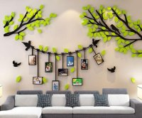 3D Acrylic DIY WALL STICKERS*wedding decorations*wall decal