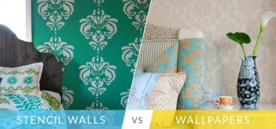 Stencil Paint Or Wallpaper: Which One Should You Choose?