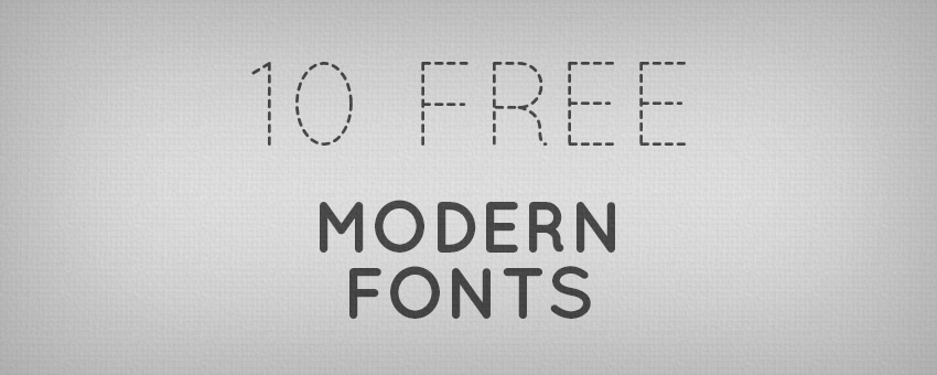 10 Useful Modern Fonts for Designers Design Panoply