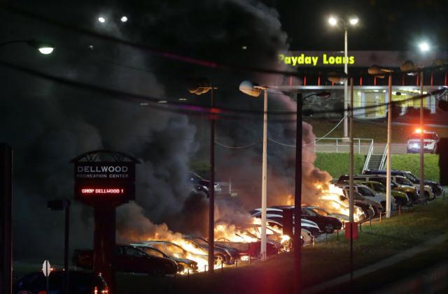 Ferguson Rioting 3