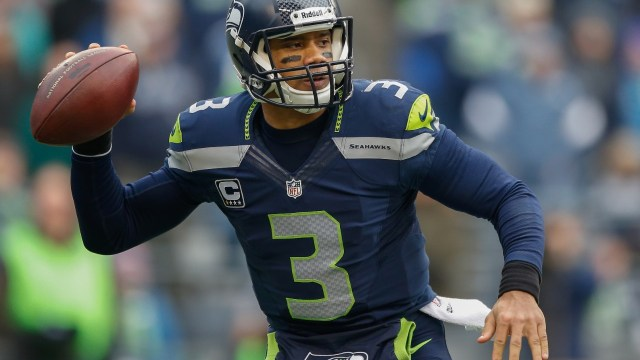 Seattle QB Russell Wilson