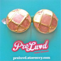 PreLuvd | Baby Pink Vintage Earrings | Online Store ...