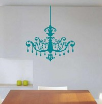 Chandelier Wall Decal - c Wall Decal
