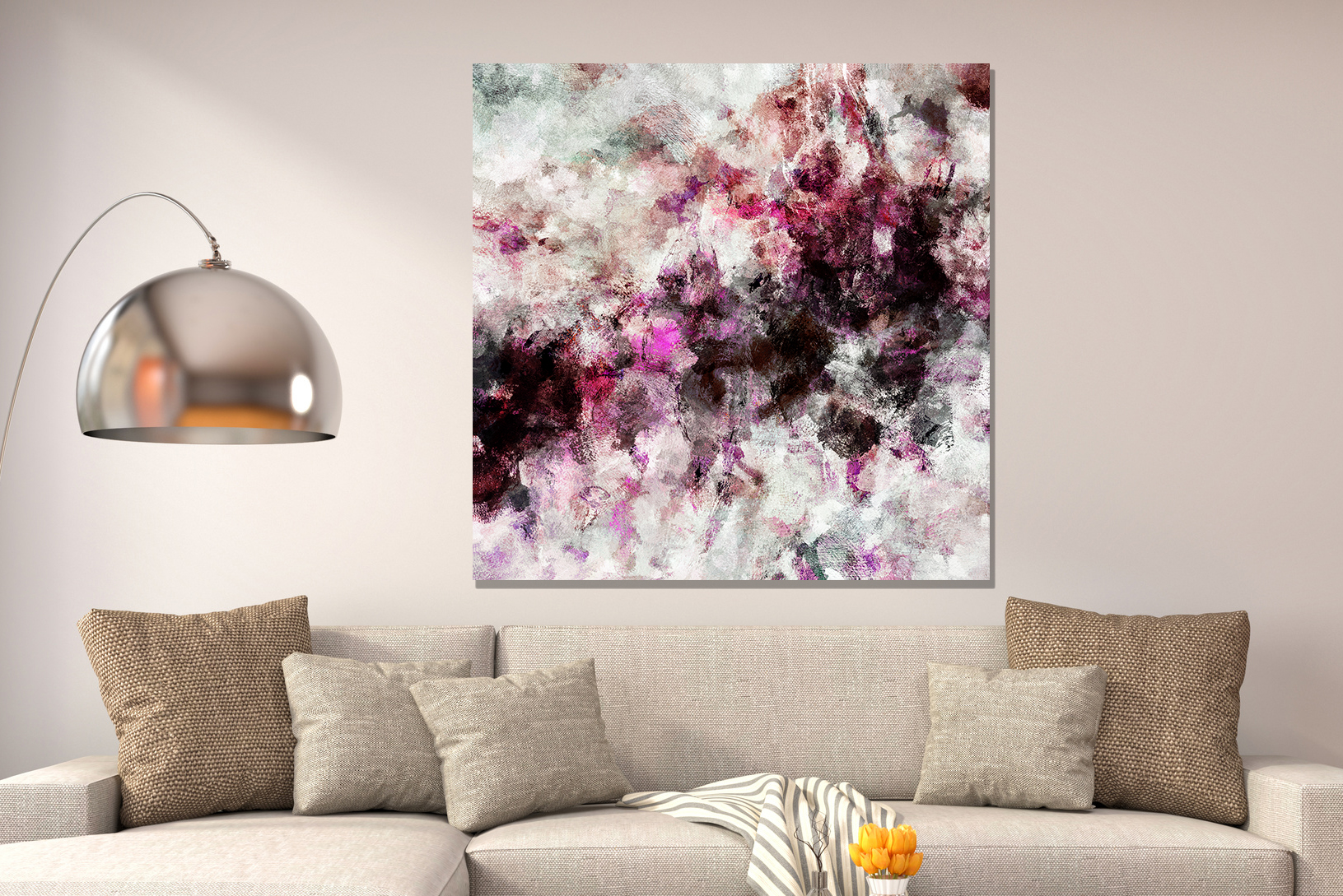 Abstract Art Prints On Canvas Pink Abstract Art Abstract Art Prints Modern Print Pink Art Prints Canvas Print Of An Original Pink Painting Minimalist Pink Wall Art