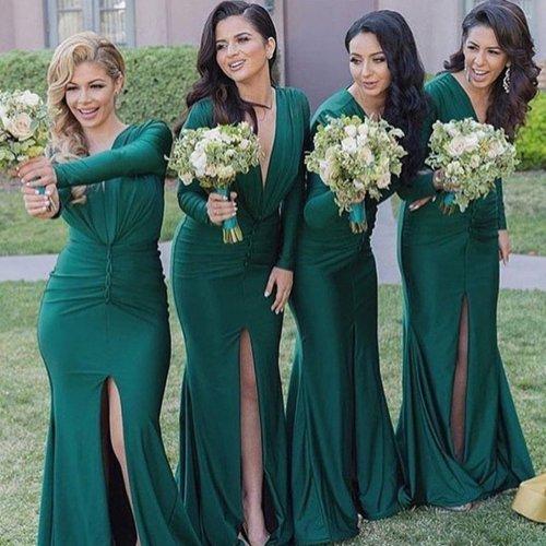 Medium Of Long Bridesmaid Dresses