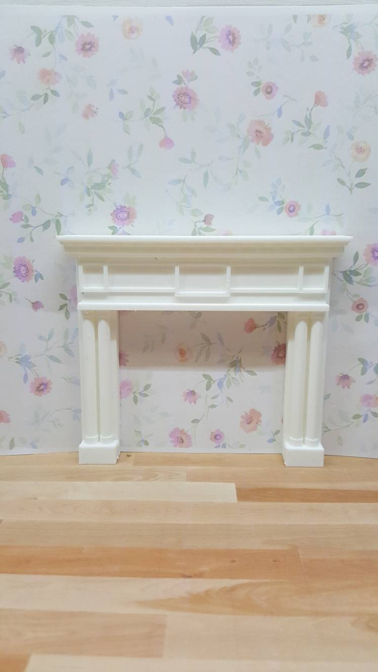Bobs Fireplace 1 24 Scale Dollhouse Fireplace