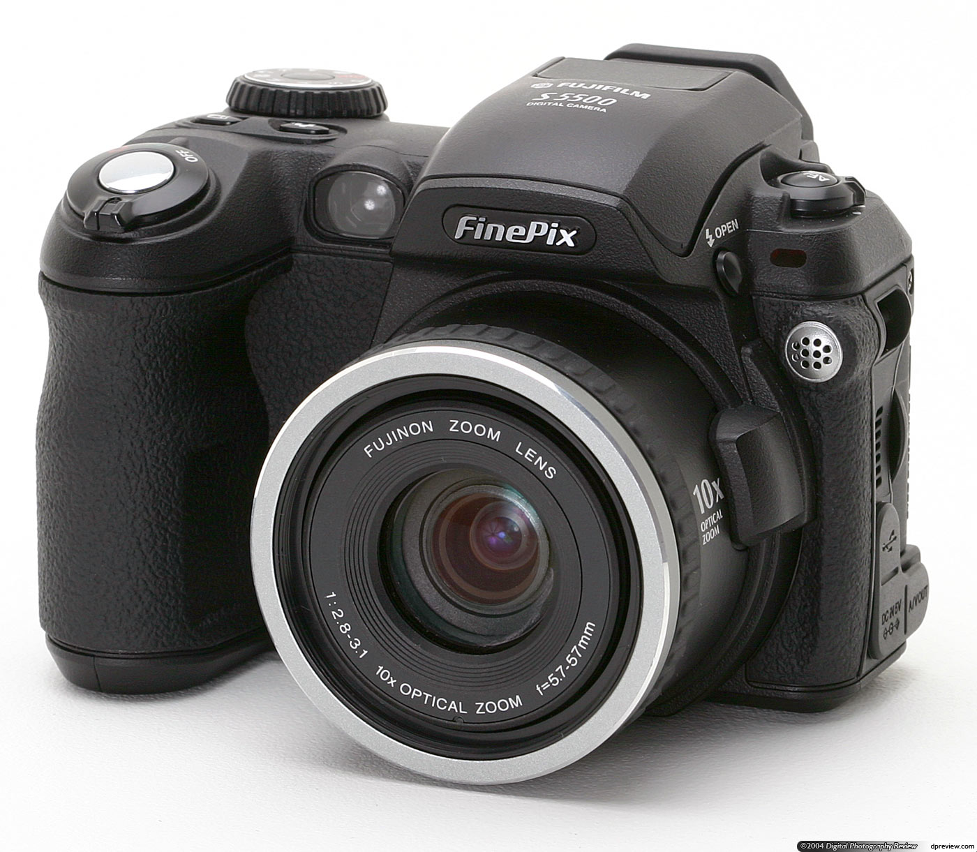 Fuji Fuji Fujifilm Finepix S5100 S5500 Review Digital Photography