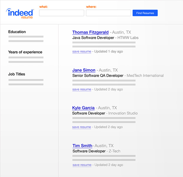 Create Your Resume on Indeed Indeed