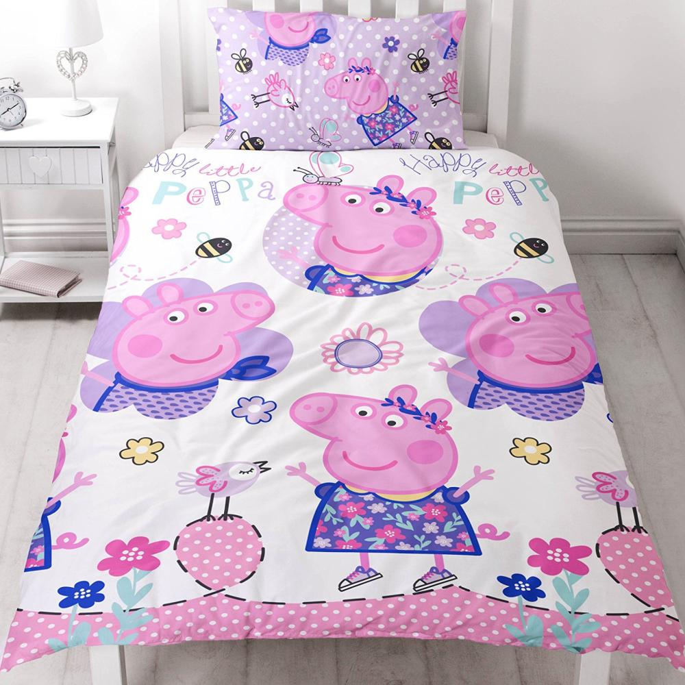 Children S Home Furniture Linon Bettwäsche Peppa Wutz Pig Friends 135 X 200 Cm Bettzeug Bettbezug Renforcé Home Furniture Diy Alpan Com Mk