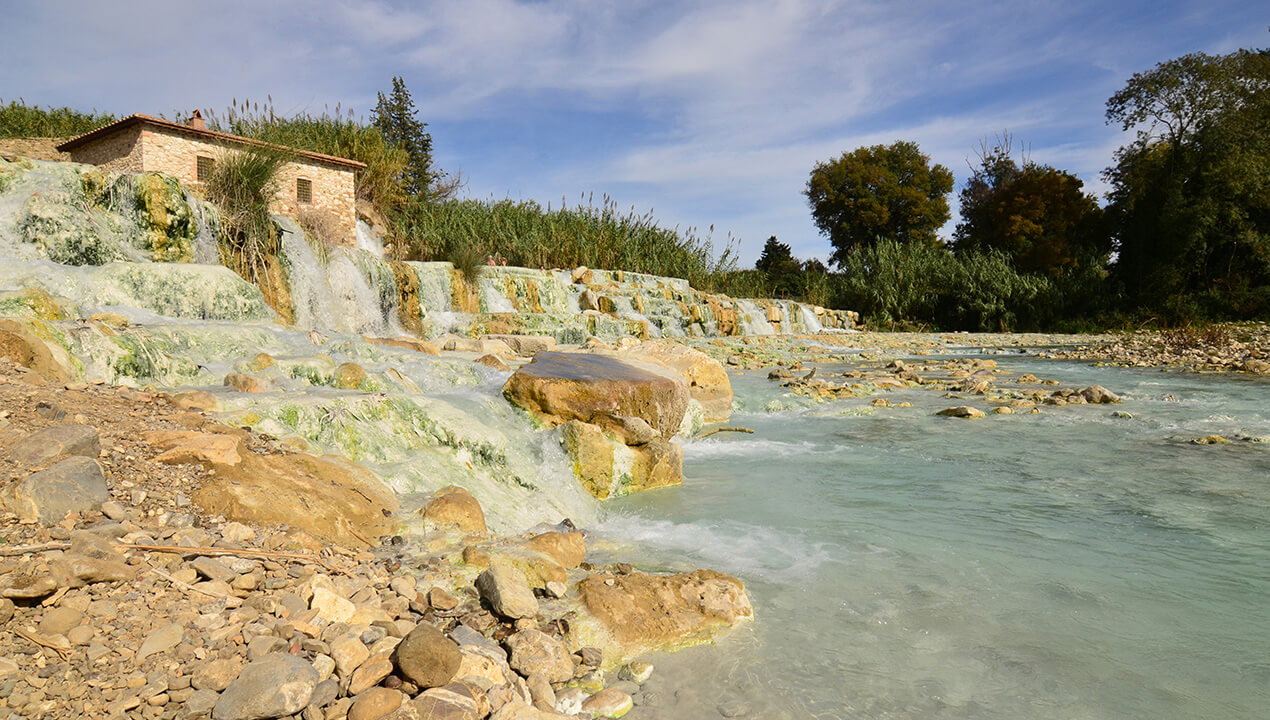 Bagno Vignoni Free Thermal Baths Tuscany Hot Spring The 5 Best Bath Spa Alitalia Discover Italy