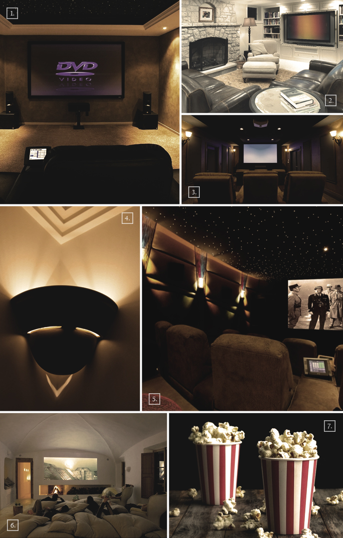home theater design ideas unusual attractions