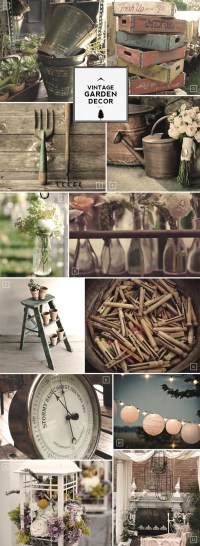 Ideas for Vintage Garden Decor and Outdoor Accessories ...