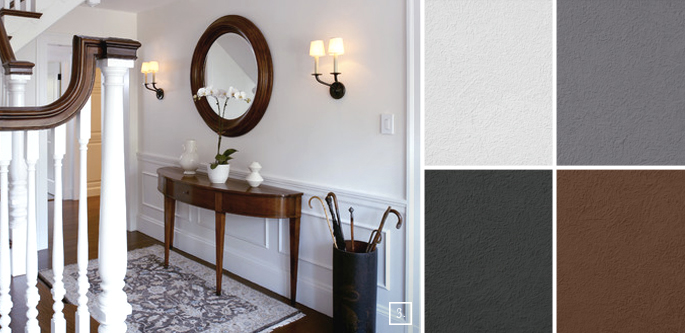 Hallway paint colors submited images