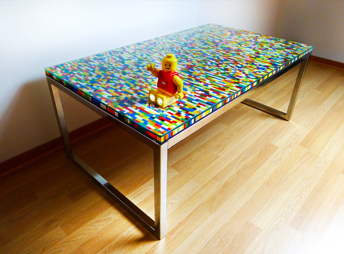 Lego Kitchen Island 21 Insanely Cool Diy Lego Furniture And Home Decor