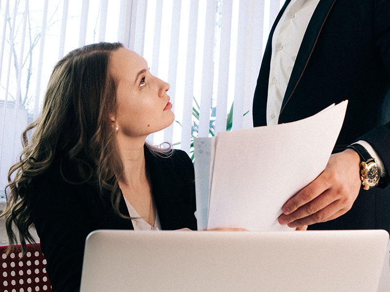 10 Signs Your Married Coworker Is Flirting