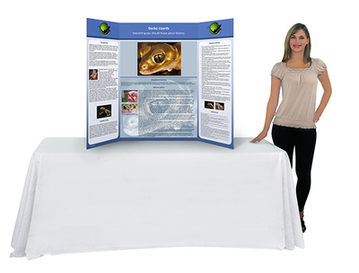 Trifold poster board - Order and upload