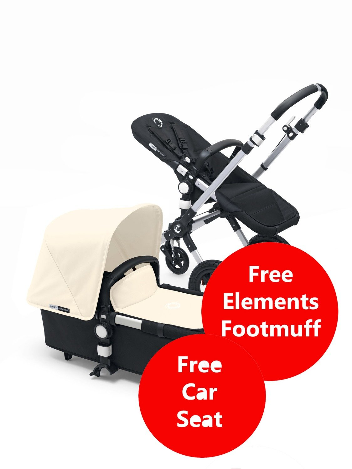 Bugaboo Pram Yellow Bugaboo Cameleon 3 Pushchair Travel System Off White Free Cabriofix Car Seat