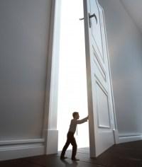 Small Hinges Swing Big Doors