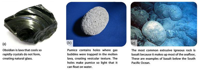 Intrusive and Extrusive Igneous Rocks ( Read ) Earth Science CK