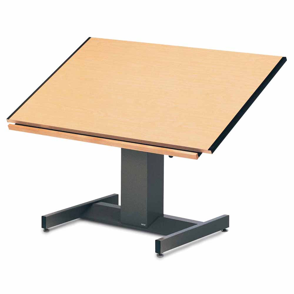Adjustable Height Drafting Table Mayline 37 5
