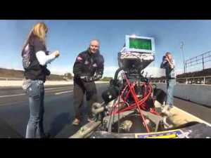 Watch this Marriage Proposal; Drag Racer Cody Graham Pretends Car Breaks to Propose to Kern
