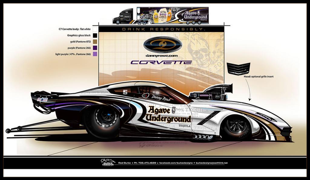 Danny Rowe Unveils Plans For New C7 Corvette Pro Mod