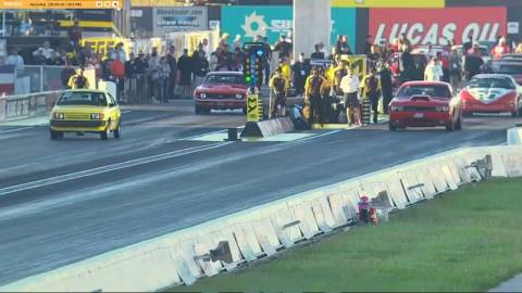 Possibly the Longest Head Start in Drag Racing History?