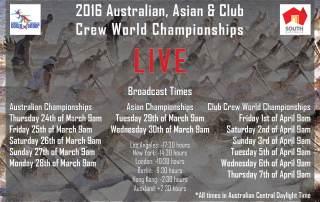 CCWC Schedule