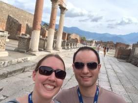 In Pompeii.