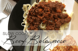 Slow Cooker Beef Bolognese