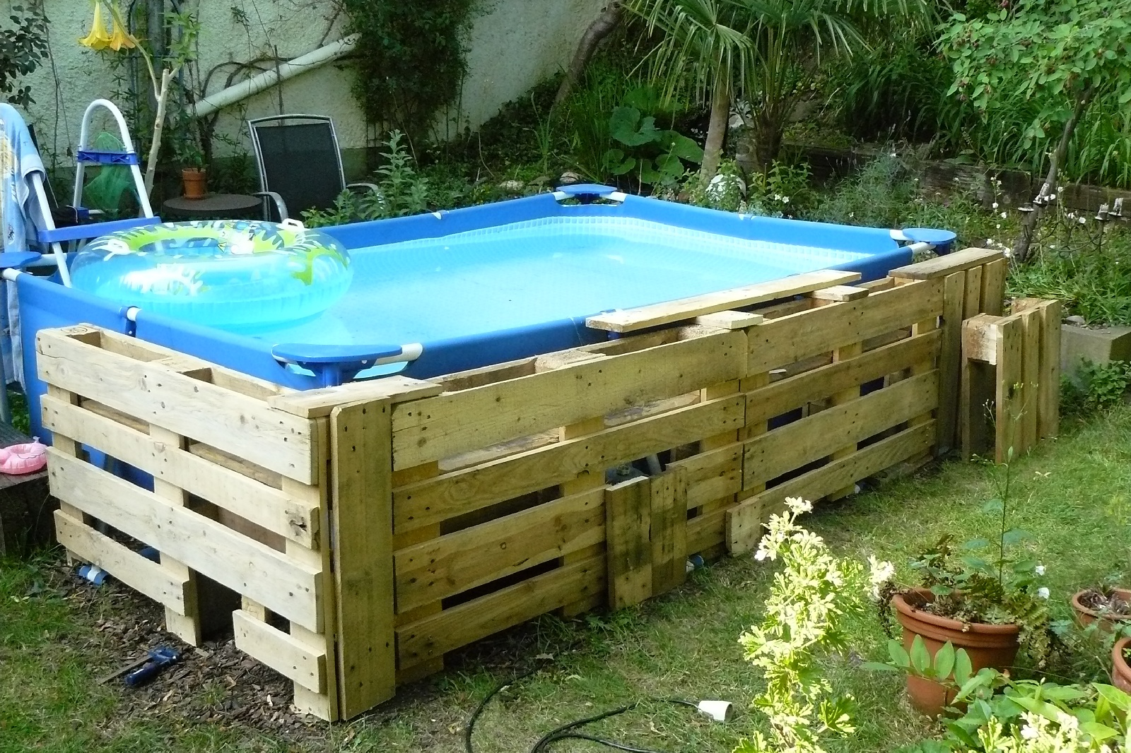 Pool Aus Paletten Eckig Pool Paletten 10068 Made House Decor