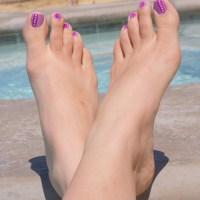 Fabulous Feet Friday (Purple Passion)