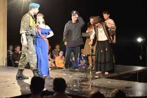 "A Moment from ""Viy 2.0"" Play by Nataliya Vorozhbyt"