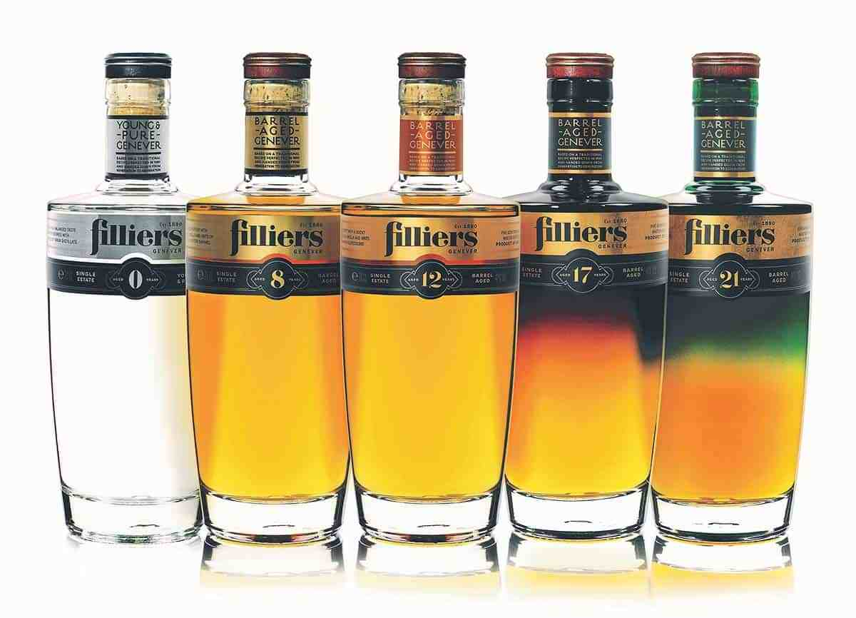 Verschil Gin En Jenever Filliers Barrel Aged Genevers Drankenwereld Blog