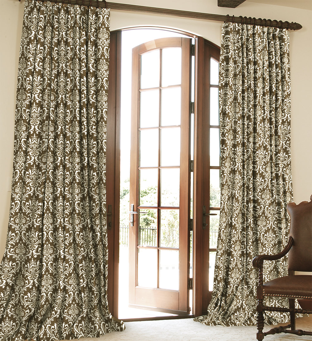 Cotton Curtain Panels Traditions Cotton Drapery Collection