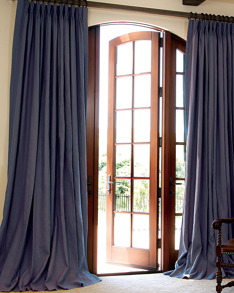 105 Inch Curtains Custom Linen Drapes