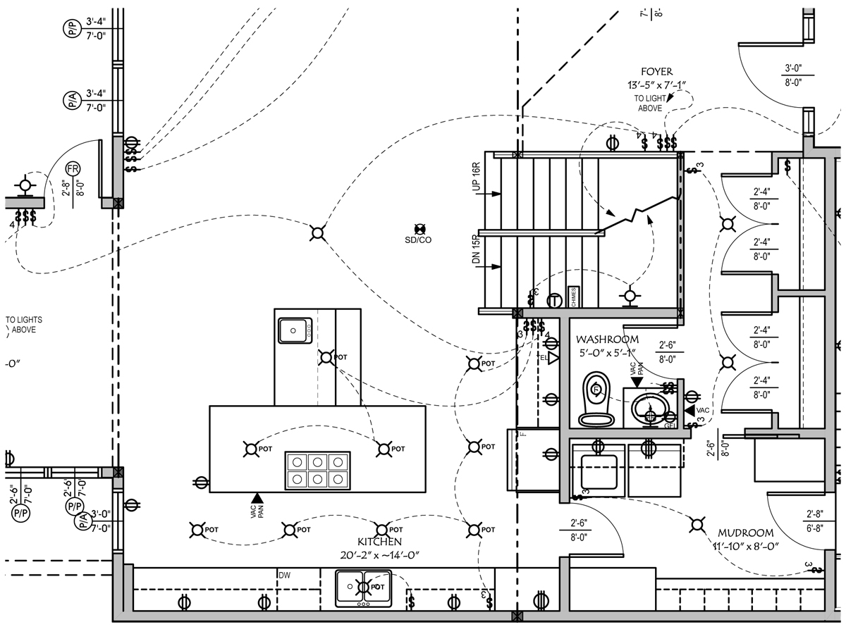 electrical plan cad