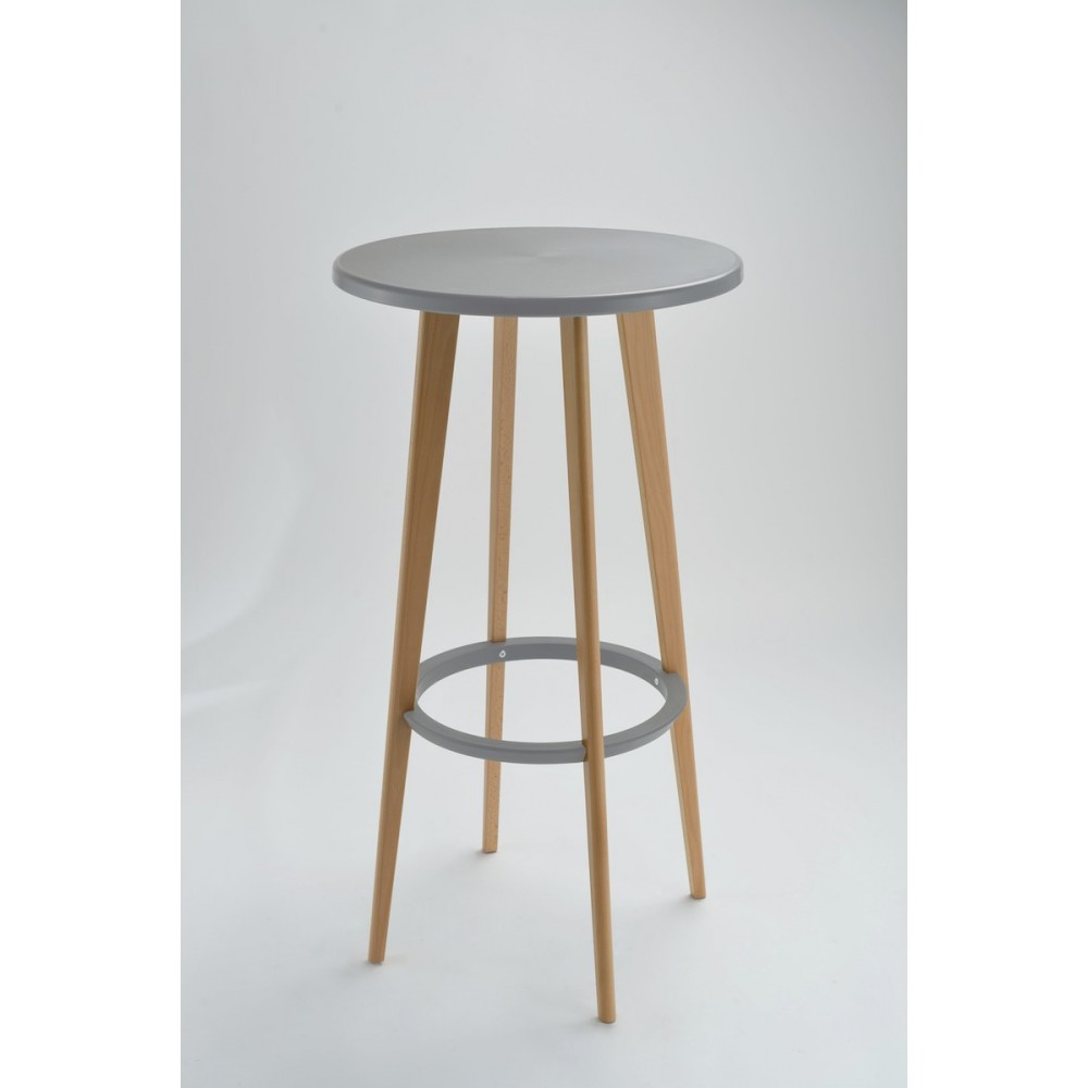 Table Haute Ronde Table De Bar Ronde Design Blanche Harry's By Drawer
