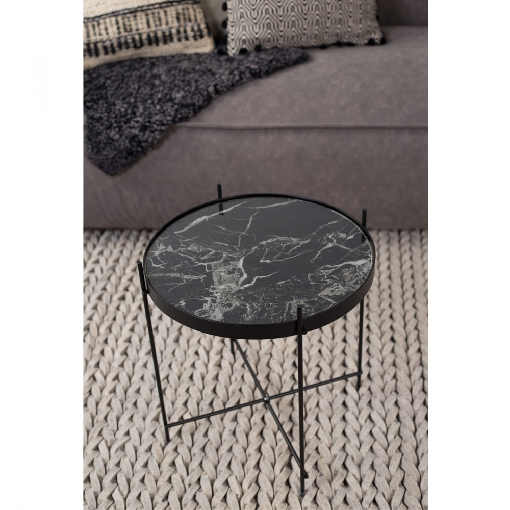 Table Basse Zuiver Table Basse Design Ronde Cupid S Marble Zuiver