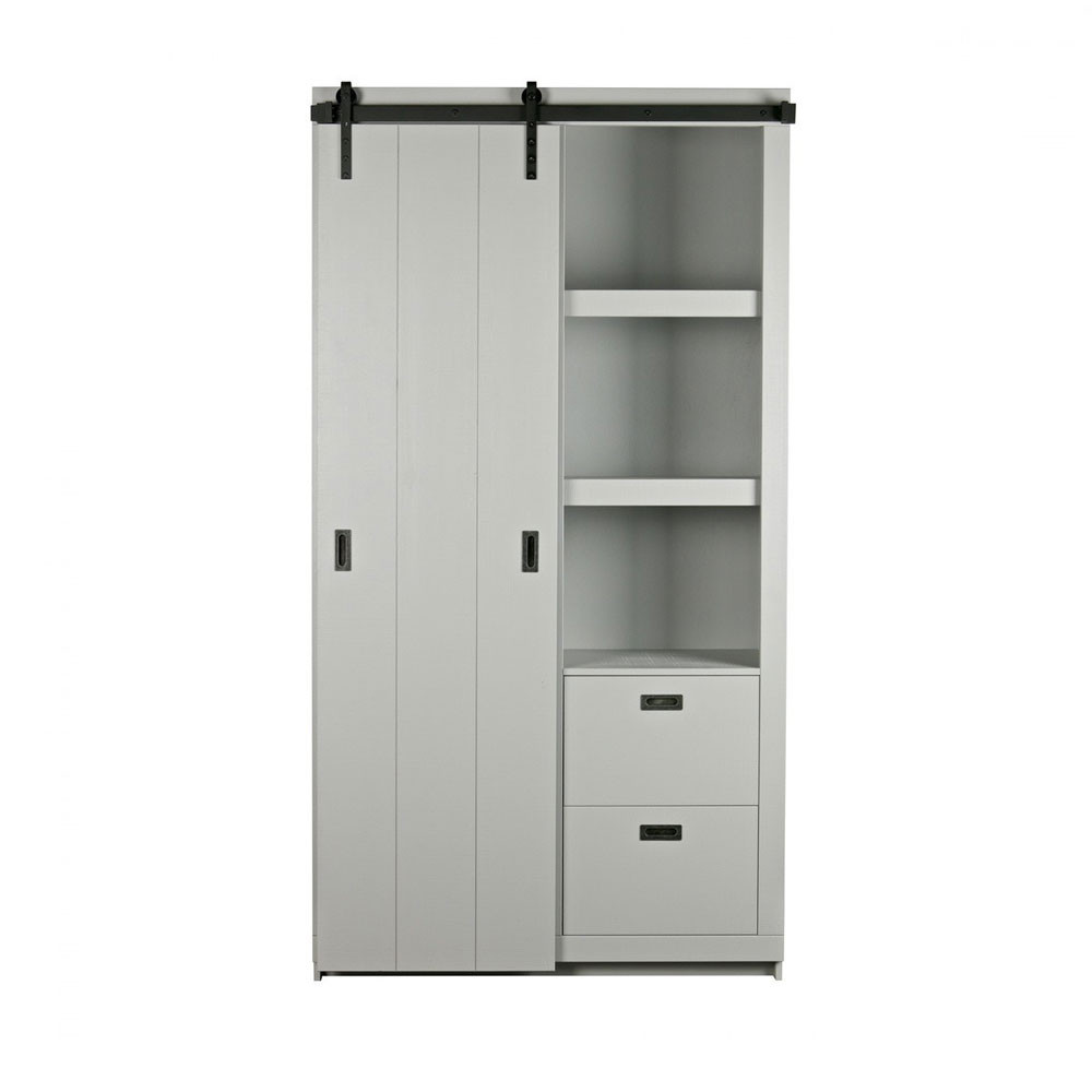 Porte Meuble Armoire Design Bois Porte Coulissante Barn By Drawer