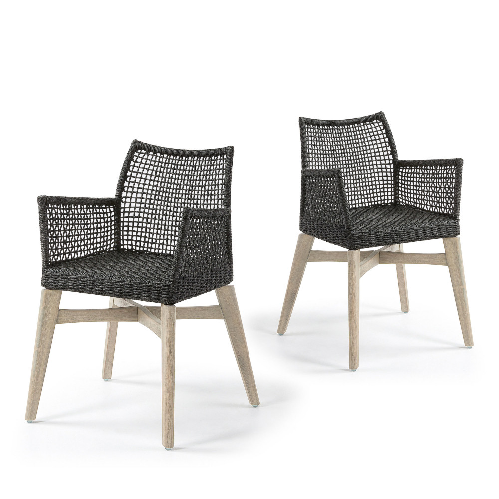 Chaises Accoudoirs 2 Chaises Avec Accoudoirs Indoor Outdoor Houdini