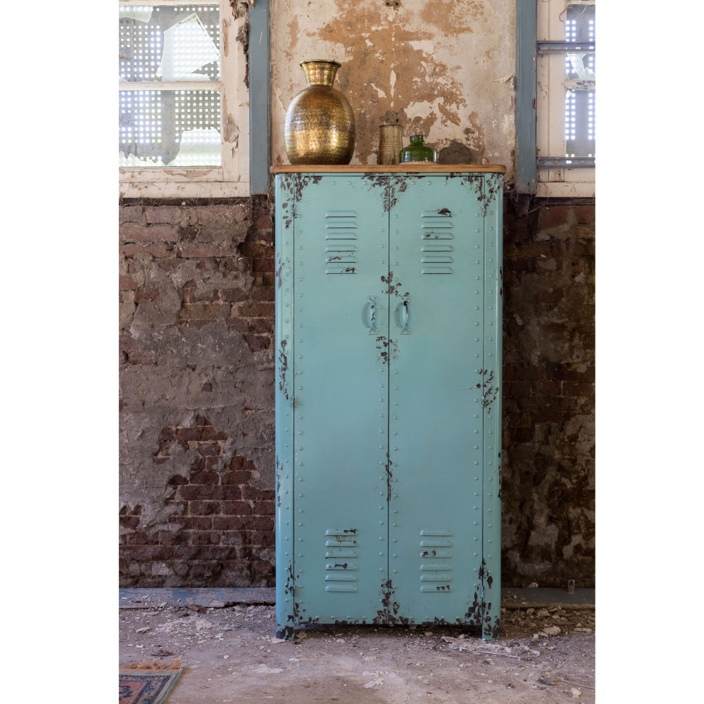Armoire Casier En Métal Rusty Dutchbone By Drawer