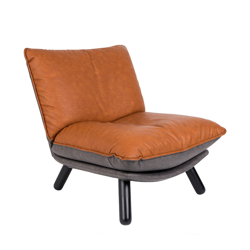 Fauteuils Cuir Fauteuil Lounge Simili Cuir Zuiver Lazy Sack