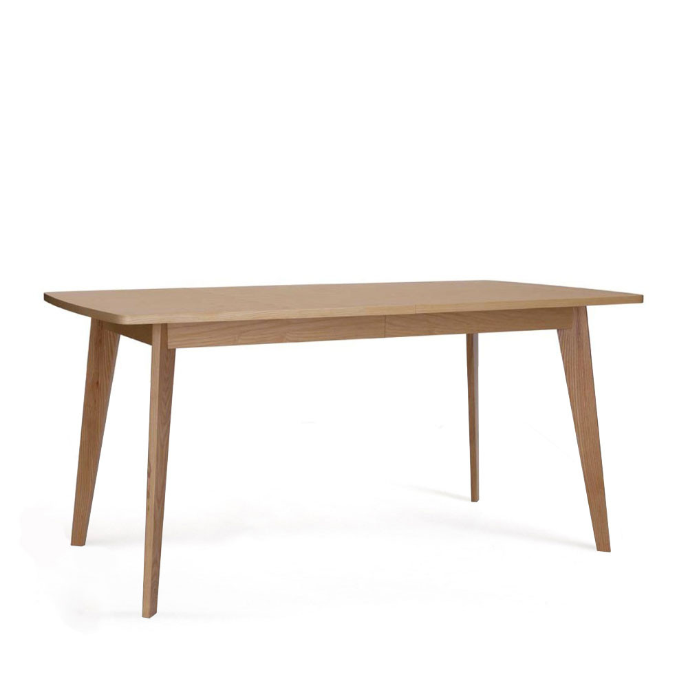 Table Scandinave Noire Kensal Table à Manger Extensible 160 200 Cm Bois