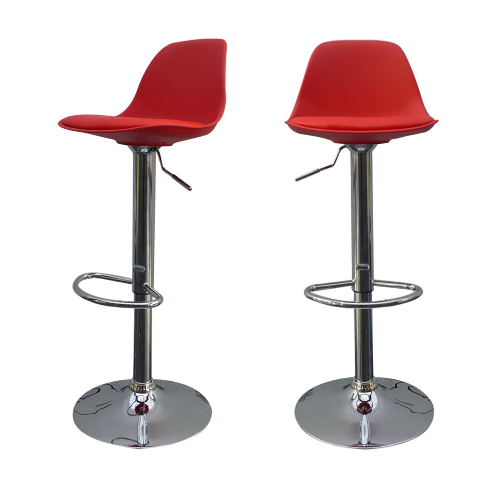 Set De 2 Tabourets De Bar Lot De 2 Tabourets De Bar Design Orlando De Drawer.fr