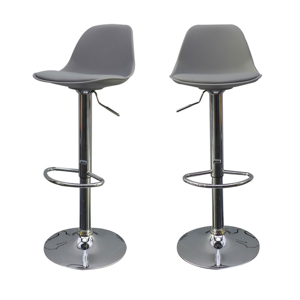 Lot De 2 Tabourets De Bar Design Orlando De Drawer Fr - Tabourets De Bar Cuisine Design Louisiane
