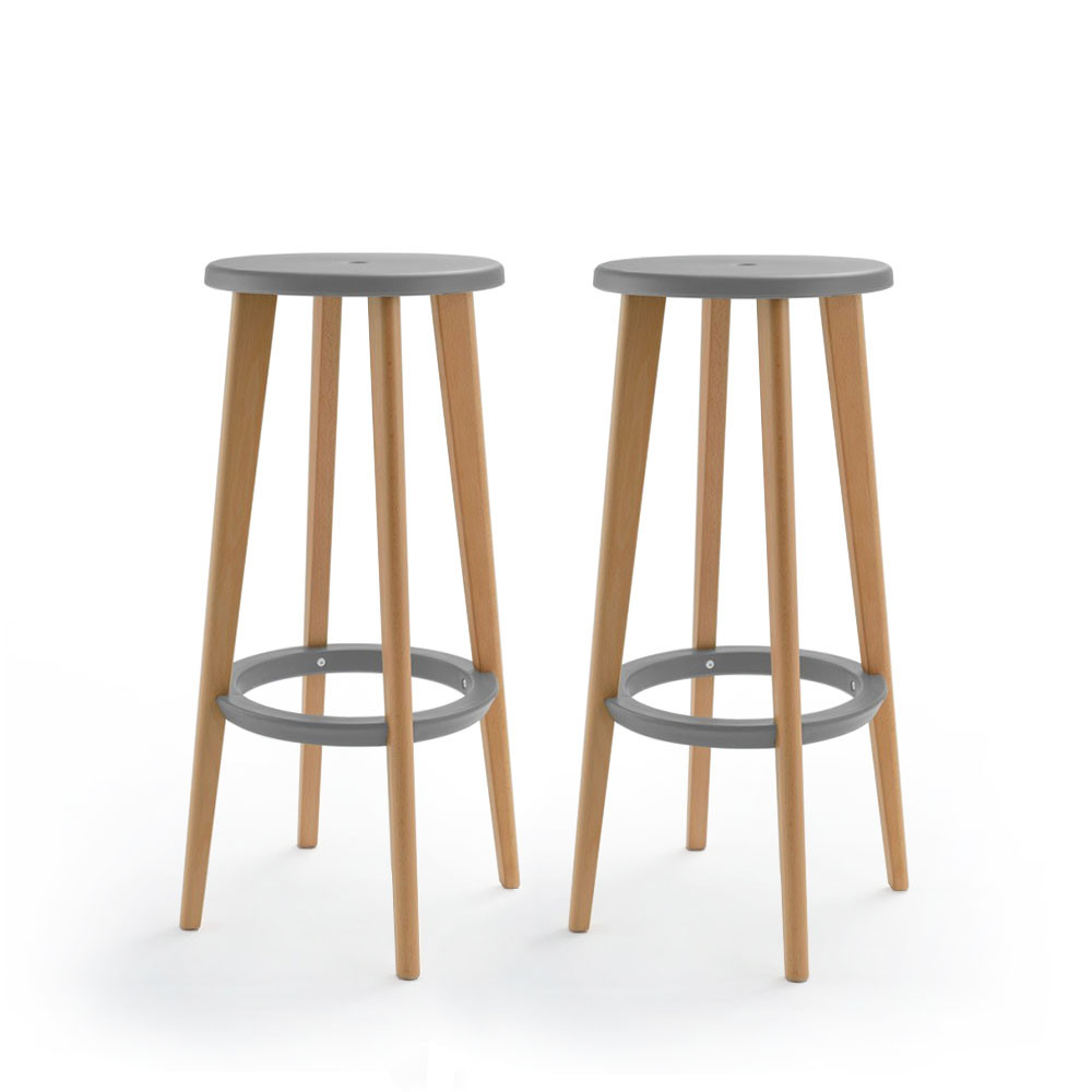 Tabourets Moutarde Lot De 2 Tabourets De Bar 76 Cm Harry S