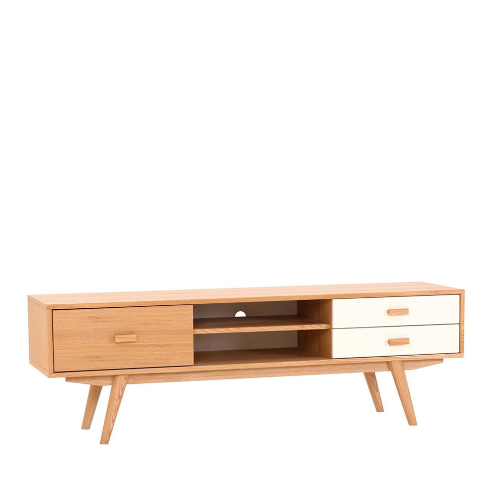 Meuble Tv Scandinave Bois Meuble Tv Scandinave En Bois Maguro By Drawer